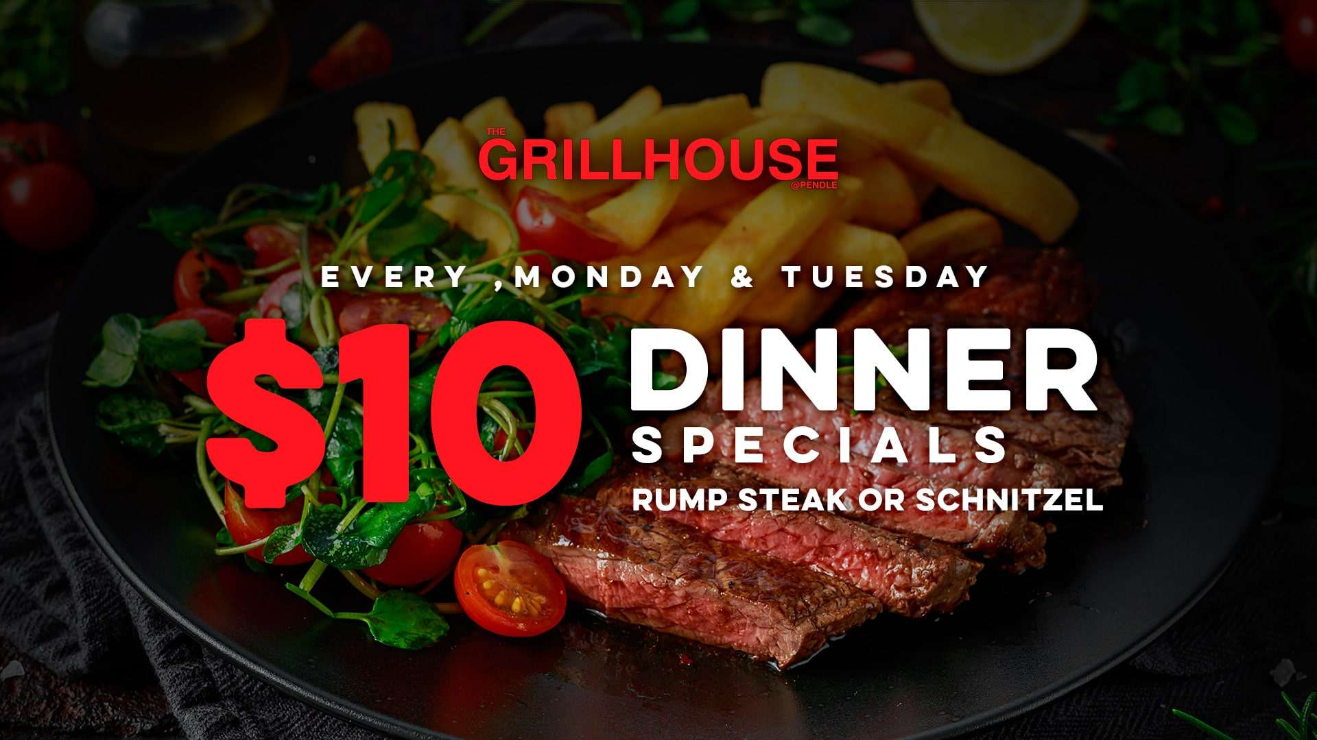 $10 Dinner Specials